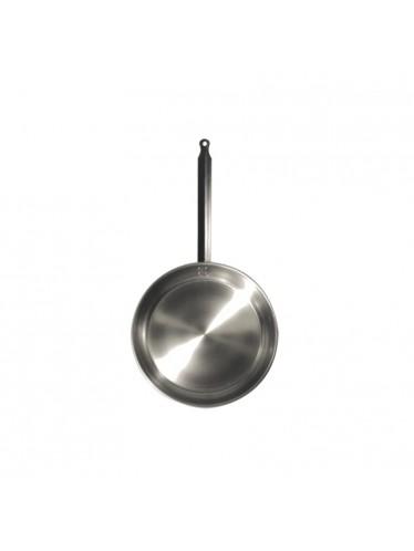 Ατσάλινο τηγάνι L'Arbalete Carbon Steel 24cm | www.mantemi.gr