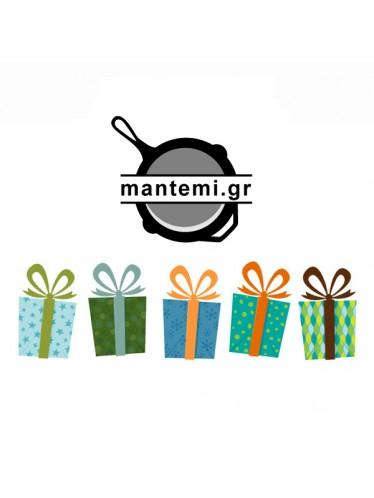 Δωροκάρτα από το μαντέμι | www.mantemi.gr