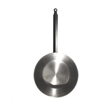 Ατσάλινο τηγάνι βαθύ L'Arbalete Carbon Steel 28cm | www.mantemi.gr