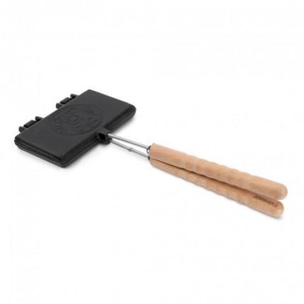 Μαντεμένιo σκεύος για βάφλες Petromax με κοντό χερούλι | www.mantemi.gr