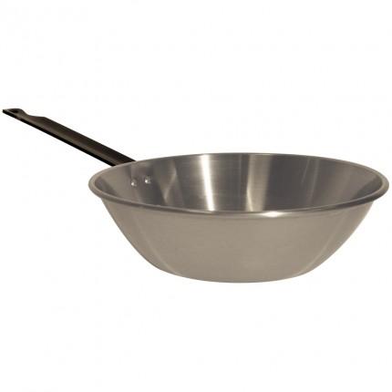 Ατσάλινο τηγάνι βαθύ L'Arbalete Carbon Steel 28cm
