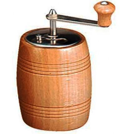Ξύλινος μύλος πιπεριού Ø10 cm μπεζ | www.mantemi.gr